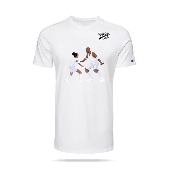 Legends Live Forever – T Shirt White